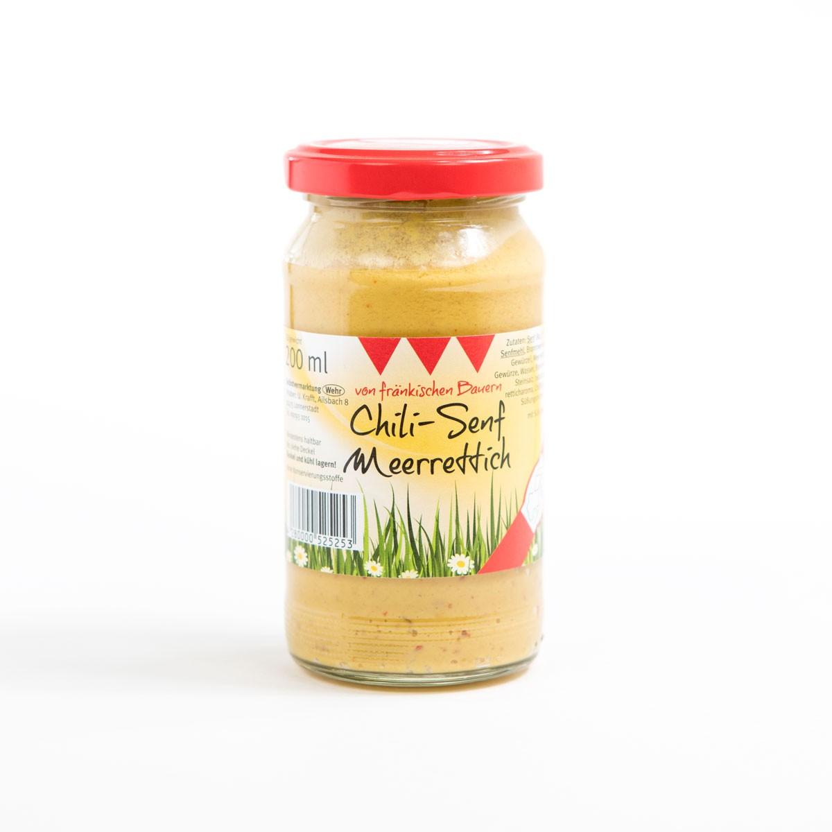 Fränkischer Chili-Senf Meerrettich