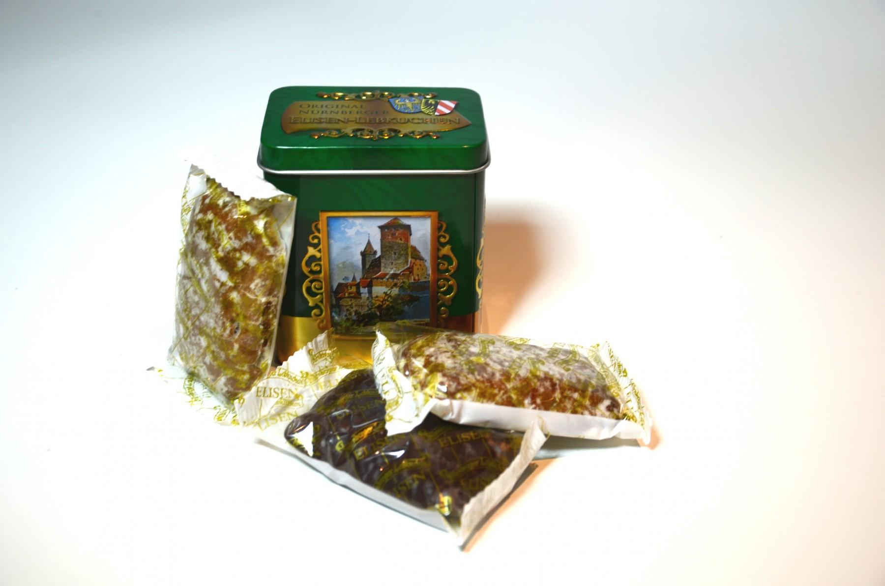 Mini-Nostalgie-Dose - Elisenlebkuchen