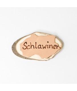 """Namenschild """"Schlawiner"""""""
