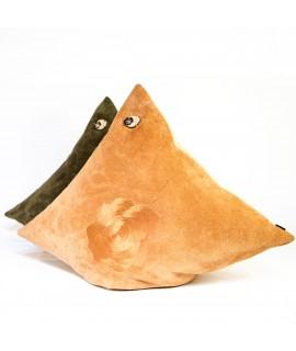 Wildlederkissen