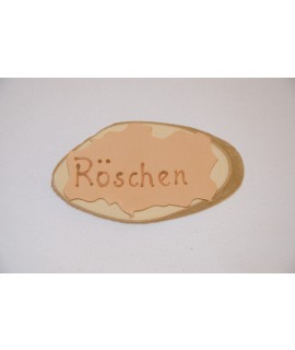 "Namenschild ""Röschen"""