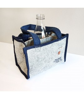 Filztasche für Flaschen
