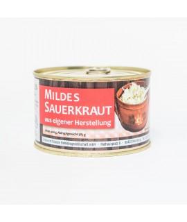 """Sauerkraut """"Bratwurst Röslein"""" 400g Dose"""